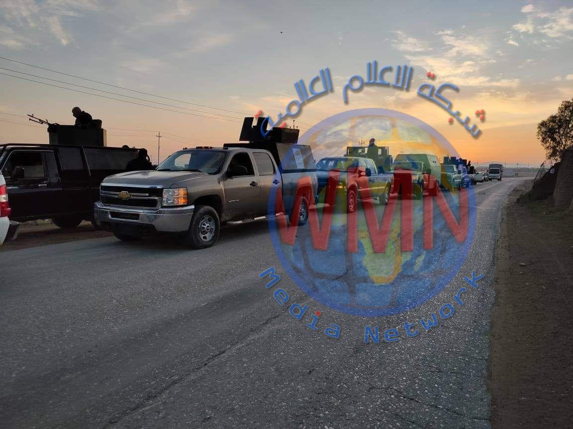 الحشد الشعبي يطلق عملية أمنية لتعقب فلول داعش شمال شرق ديالى