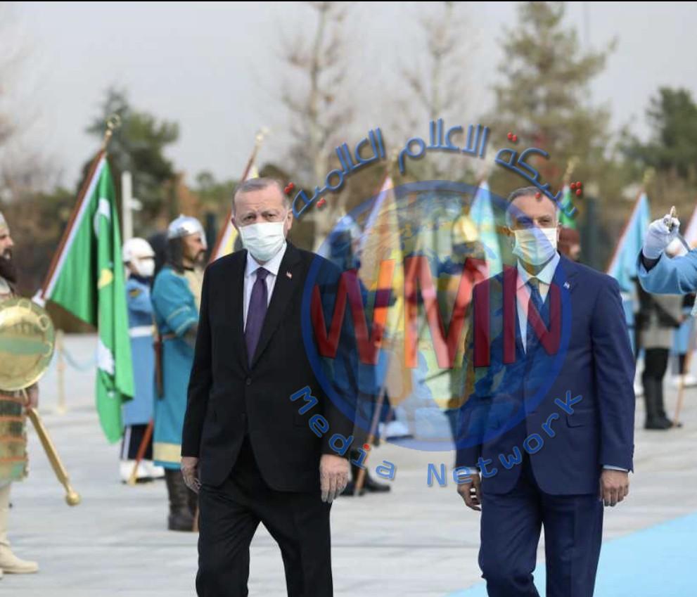 كيف تعامل الاعلام العربي مع زيارة الكاظمي لتركيا