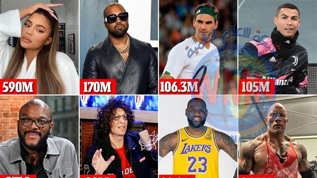 تعرّف الى المشاهير الأعلى أجرا في العالم لعام 2020!