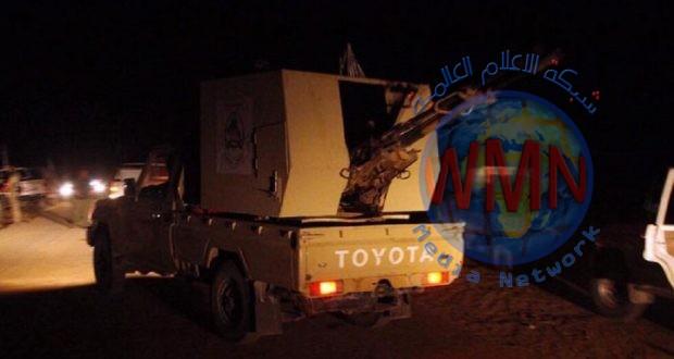 """اللواء 41 بالحشد الشعبي يحبط محاولة تسلل لـ""""د١١عش"""" جنوب سامراء"""