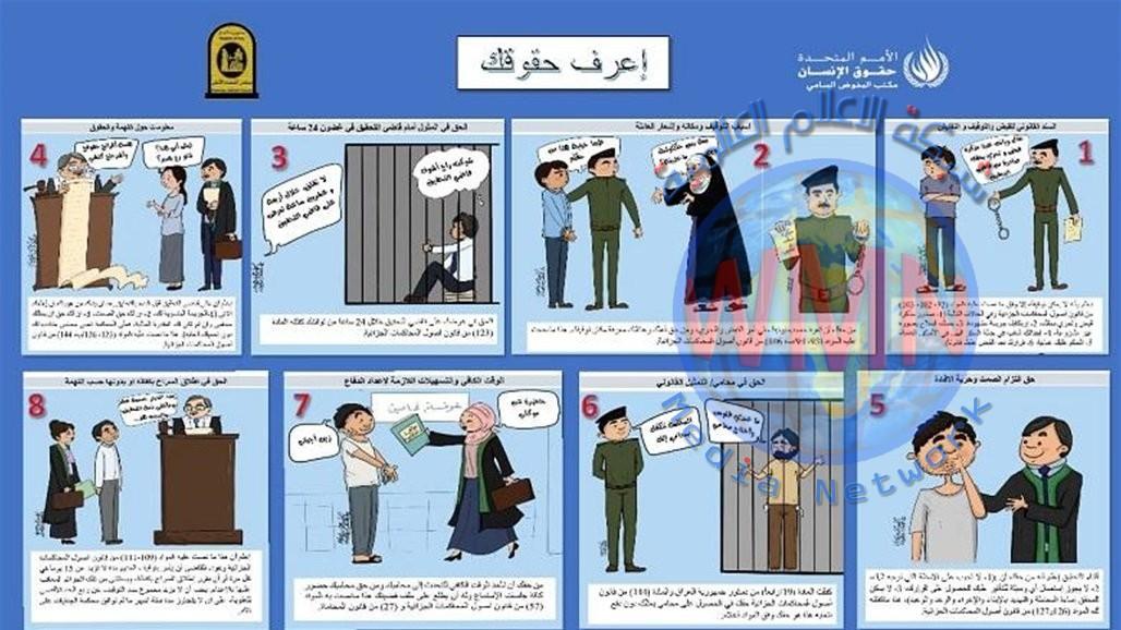 مجلس القضاء الأعلى يطلق حملة لمحاكاة ضمانات المتهم