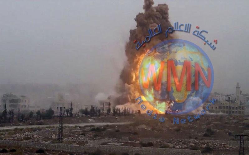 تفاصيل انفجار العجلة المفخخة على القوة الامنية غرب الانبار