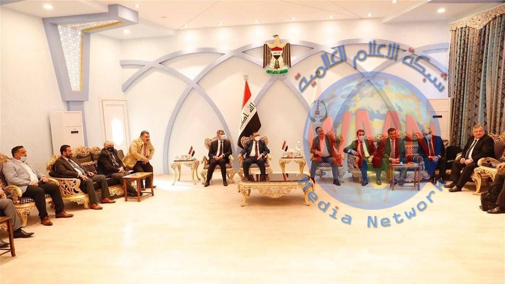 برئاسة وزير النفط.. وفد وزاري رفيع يصل نينوى