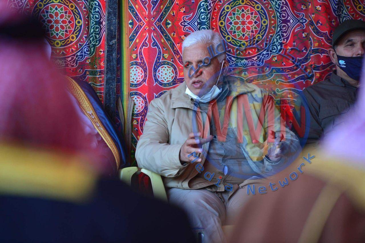 رئيس هيئة الحشد الشعبي يحضر مجالس عزاء شهداء الطارمية ويلتقي بشيوخ ووجهاء القضاء