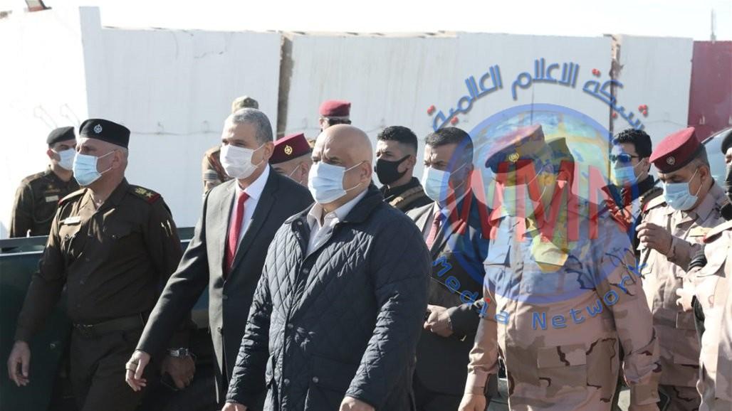 محافظ صلاح الدين يستقبل الوفد الامني الرفيع