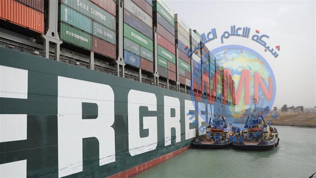 هيئة قناة السويس: العمل جاري 24 ساعة لانهاء ازمة السفينة الجانحة