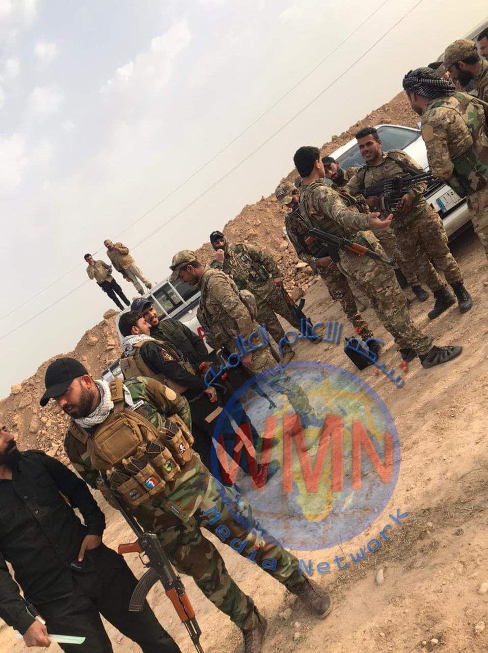 الحشد الشعبي والقوات الأمنية يشرعان بعملية أمنية واسعة لملاحقة فلول داعش شمال شرق ديالى