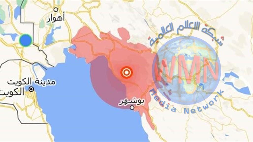 هزة ارضية في البصرة جراء زلزال عنيف ضرب جنوب ايران