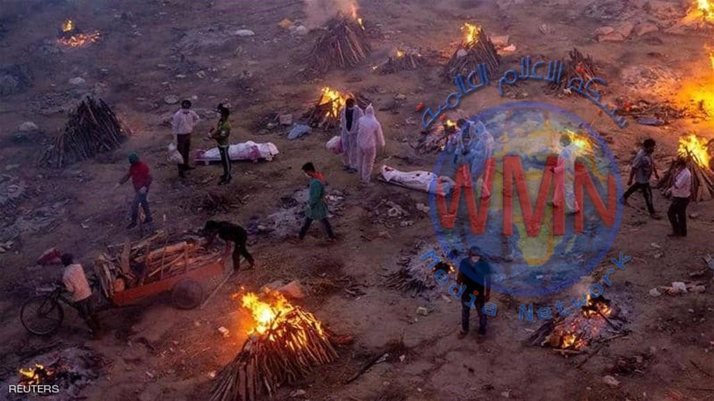 الهند تسير نحو الصدارة العالمية بعدد الوفيات والاصابات بكورونا