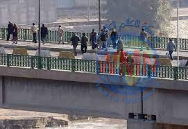 انقاذ شخص حاول الانتحار من أعلى جسر في بغداد