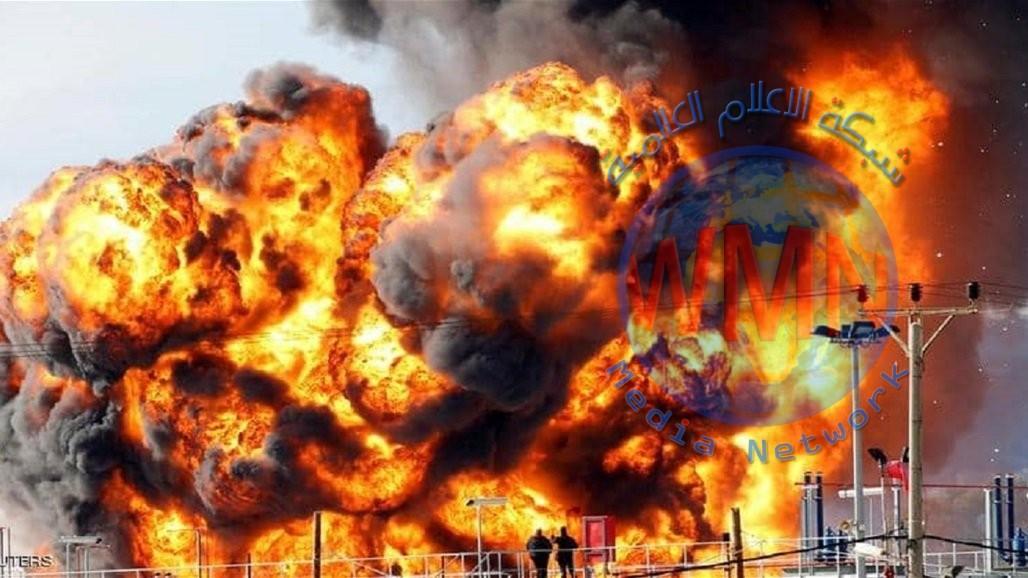 اندلاع حريق كبير في مصفاة نفط شمال إسرائيل