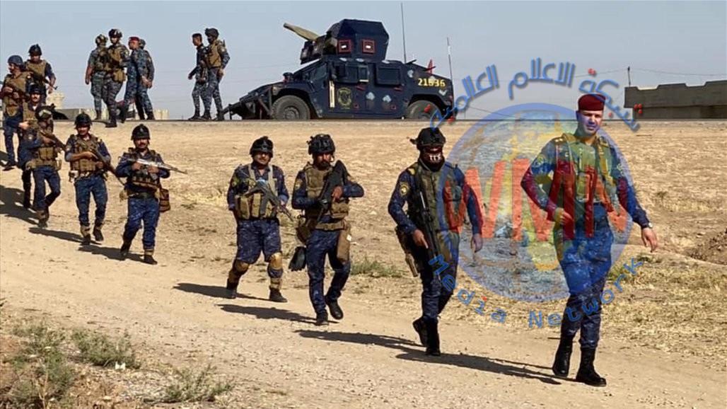 الشرطة الاتحادية تعلن نتائج العمليات العسكرية في كركوك