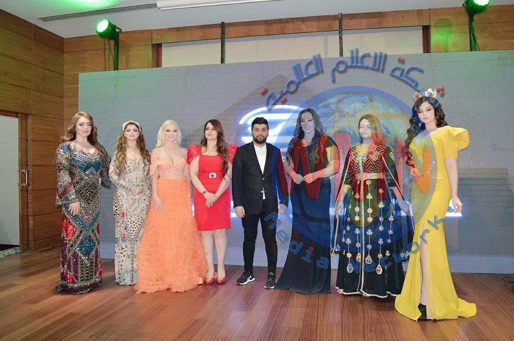 مؤسسة السوسن العالمية تحيي ليلة الجمال في اربيل
