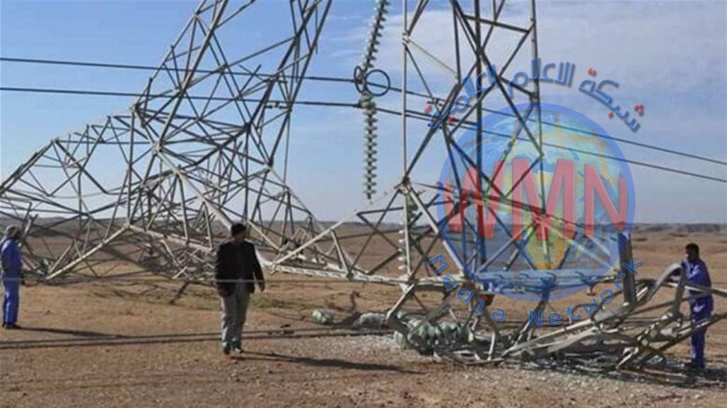 استهداف جديد لأبراج الطاقة يقطع الكهرباء عن سامراء