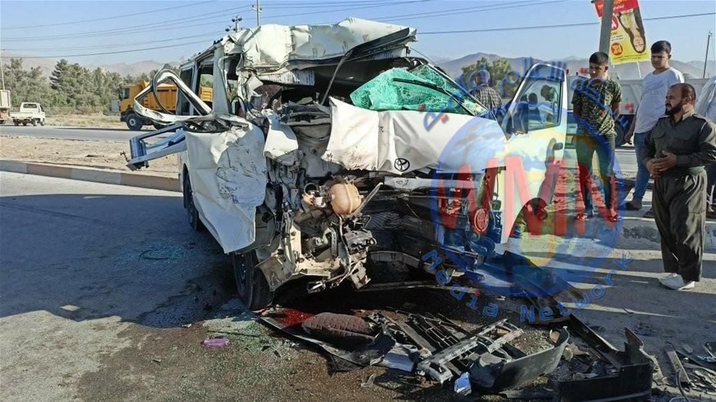 حادث سير يودي بحياة طالبين وإصابة آخرين بجروح في كردستان