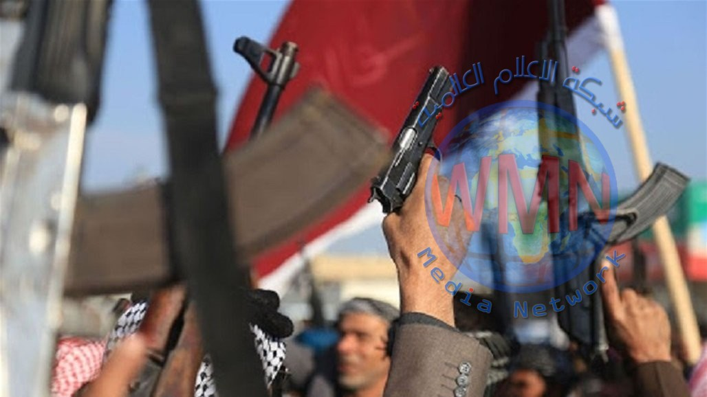 """القبض على 15 متهماً بـ""""الدكة العشائرية"""" وضبط أسلحة مختلفة في بغداد"""